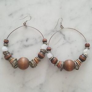 Aldo hoop earrings